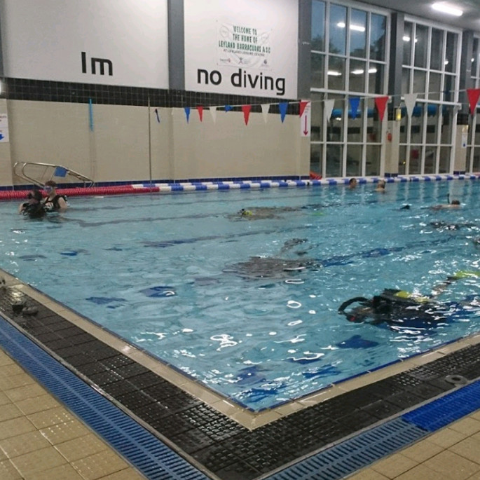 Try-Dive with Chorley BSAC Group - Leyland Leisure Centre