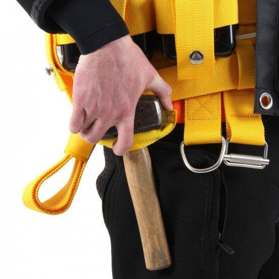 R-Vest carry hammer loop