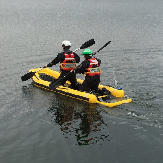 RR4 Rescue Sled |  Inflatable Sleds | Northern Diver Rescue UK