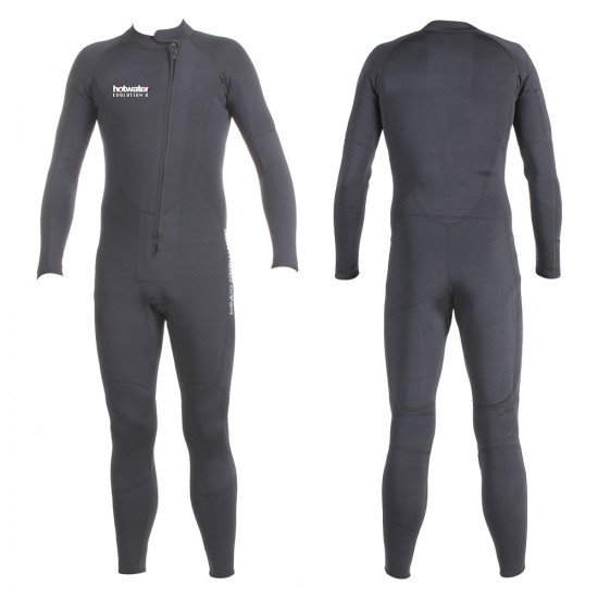 Front and back view of our dual use Hotwater suit