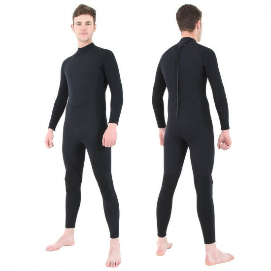 Black Military Steamer Wetsuit | Diving and Snorkelling Wetsuits for Sale  | Northern Diver International