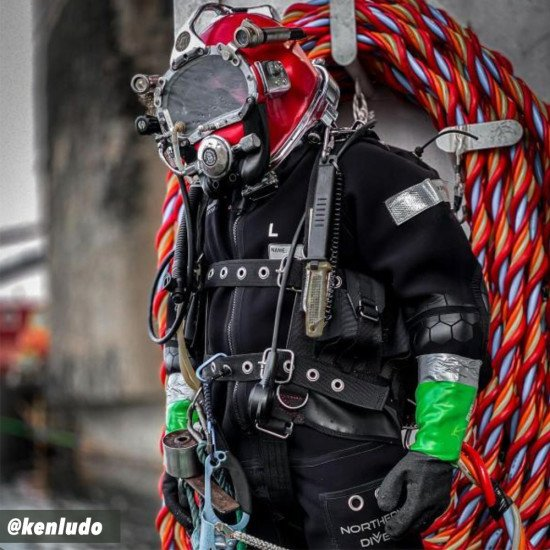 Evolution 8 Hotwater Suit   Hot Water Saturation Diving Suit   Northern Diver