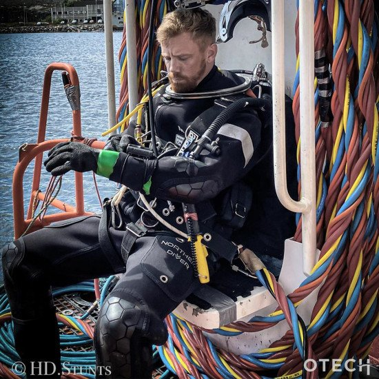 OTECH+HD - Evolution 8 Hotwater Suit   Hot Water Saturation Diving Suit   Northern Diver