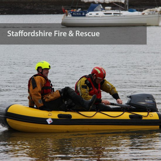 Staffordshire Fire & Rescue - on the water