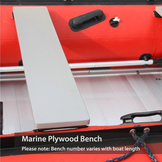 Marine plywood benches come as standard boat seating.