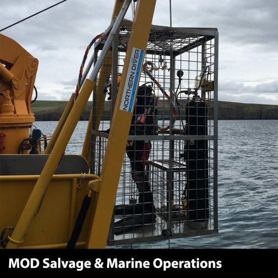 Northern Diver LARS dive cage