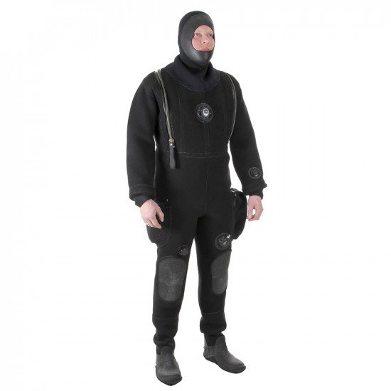 Long Duration Drysuit - front view
