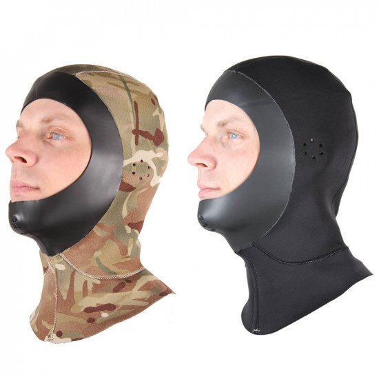 camo or black reversible hood
