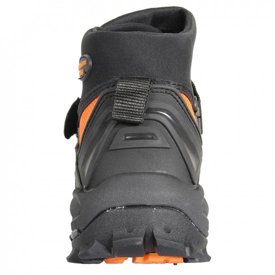 In water rescue boots back view