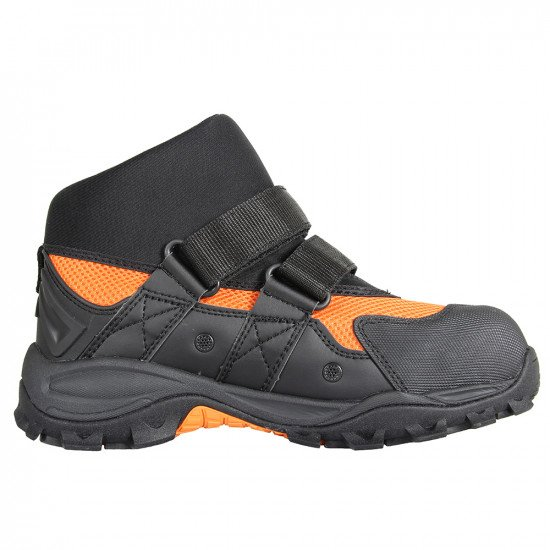 In water rescue boots inside view