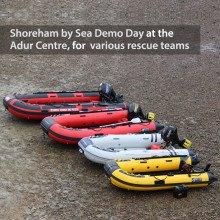 Shoreham by Sea Demo Day with Adur Centre & various rescue teams