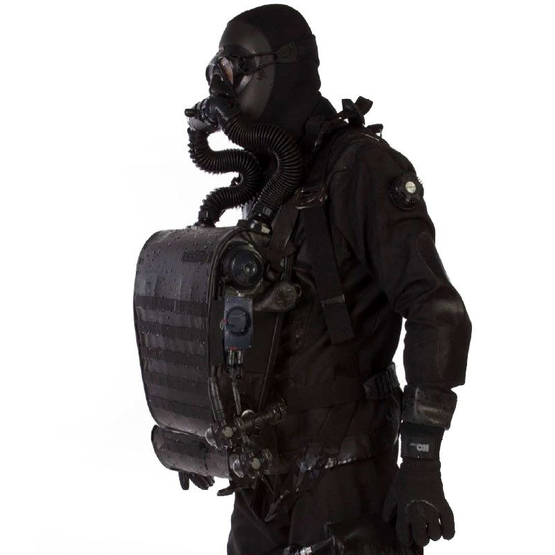 Incursion CMR Rebreather Mixed Gas Model | Military Diving Equipment