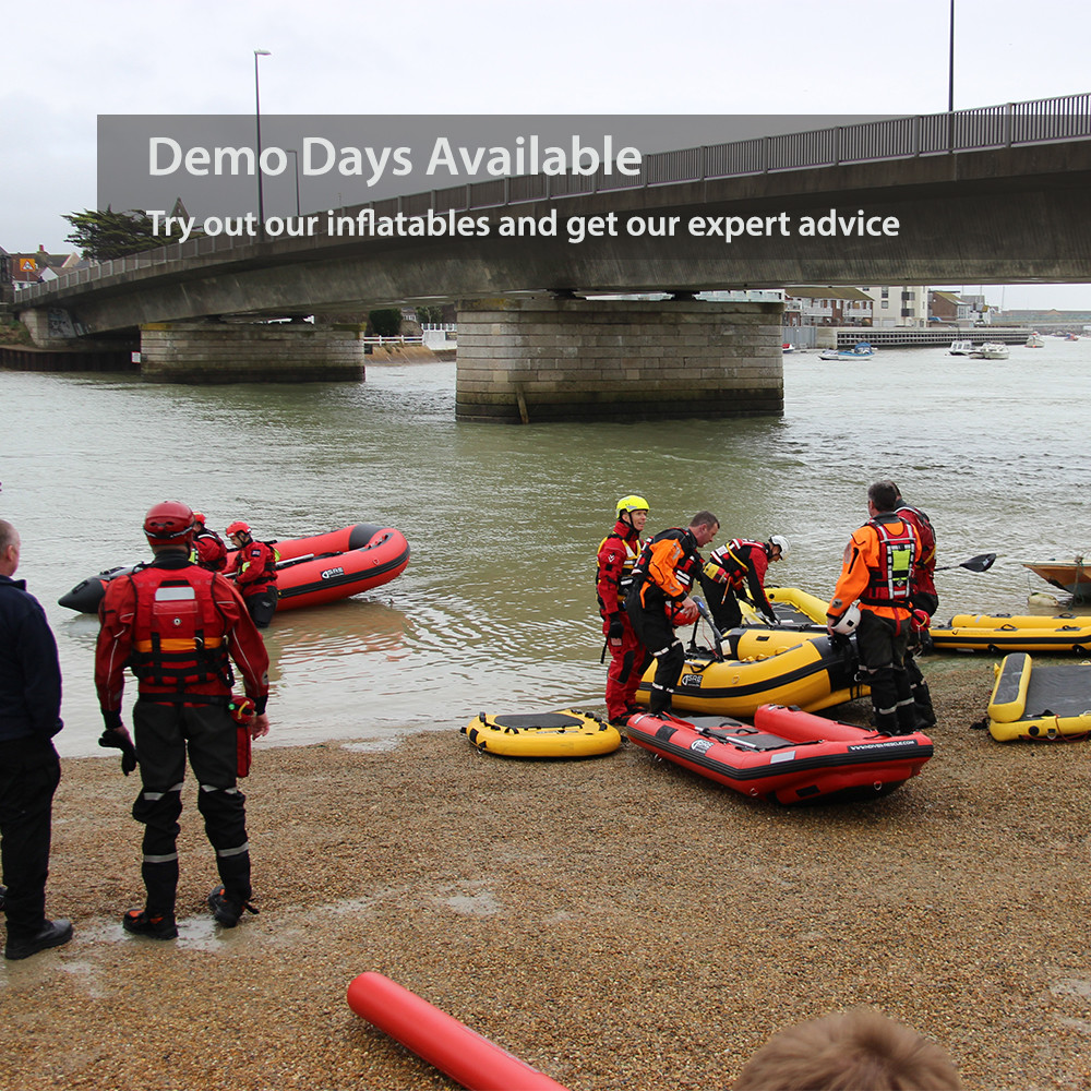 We do inflatable demo days